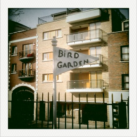 Nature Activity Ideas - Bird garden sign post