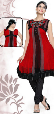 Mad Indian Dress Thing - Red