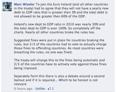 More information on the stability / fiscal treaty
